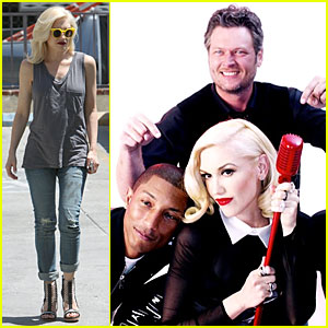 Gwen Stefani & Pharrell Williams Makes Us Holla in New 'Voice' Clip - Watch Now!