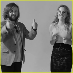 The Kid From 'Sixth Sense' Haley Joel Osment Looks Beyond Excited to Slap A Girl - Watch Now!