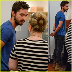 Handcuffed Shia LaBeouf Pleads 'Not Guilty' During Court Appearance After Arrest (Photos)