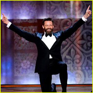 Hugh Jackman Bounces Through Tony Awards 2014 Opening Number! (Video)