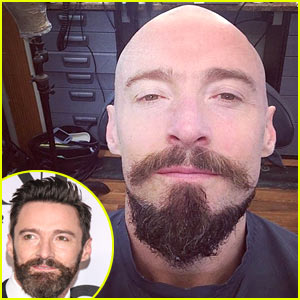 Hugh Jackman Shaves His Head for Role of Blackbeard in 'Pan' - See the Pic!