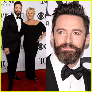 Hugh Jackman Bounces His Way to Tony Awards 2014 with Wife Deborra-Lee Furness!