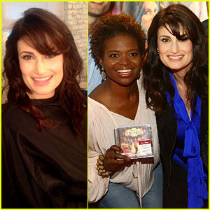 Idina Menzel Debuts New Bangs at 'If/Then' CD Signing!