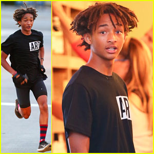 Jaden Smith Lent Kris Jenner His Batman Boots After Kim Kardashian & Kanye West's Wedding!