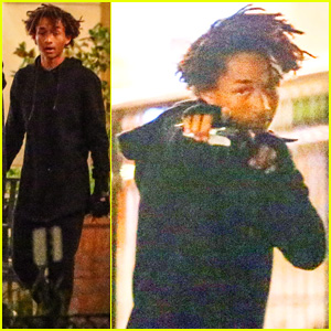 Jaden Smith Makes Late-Night Run to His Favorite Sushi Spot