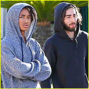Jaden Smith Makes a Water Run with Mateo Arias!