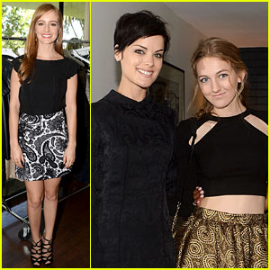 Jaimie Alexander Brings Boyfriend Peter Facinelli's Daughter Luca to Pickett Preview