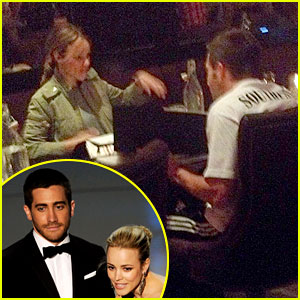 Jake Gyllenhaal & Rachel McAdams Dine Together - See the Pic!