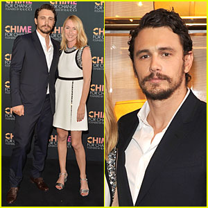 James Franco Sports Gucci to Chime for Change!