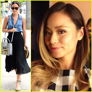 Jamie Chung Grabs Coffee Following 'Fashion Police' Appearance
