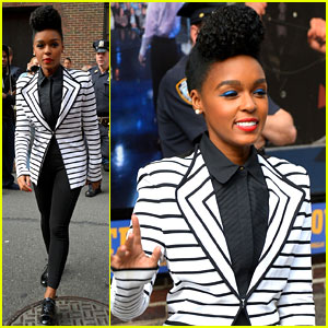 Janelle Monae Revamps David Bowie's 'Heroes' for Letterman