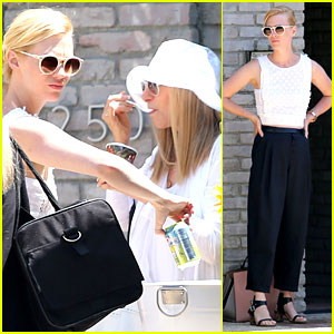 January Jones & Barbra Streisand Make an Unusual, But Awesome Father's Day Pairing!