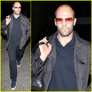 Jason Statham Brings Back Barely Anything to L.A.!