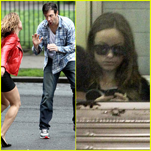 Jason Sudeikis & Margarita Levieva Get in a Physical Fight for 'Sleeping with Other People'!