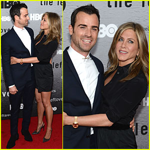 Jennifer Aniston & Justin Theroux Have So Much Chemistry at 'Leftovers' Premiere!