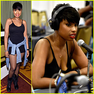 Jennifer Hudson Dons Fishnet Tights During BET Awards 2014 Weekend!
