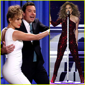 Jennifer Lopez Dances with Jimmy Fallon After Met Ball Diss!