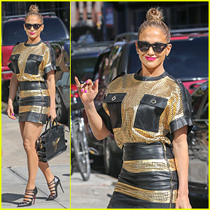 Jennifer Lopez Steps Out After Casper Smart Split