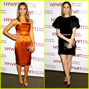 Jessica Alba & Rose Byrne Honor NY's Women in Film & TV