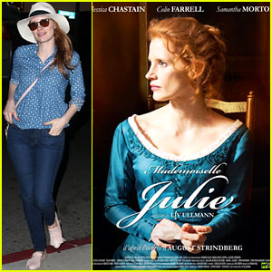 Jessica Chastain is Contemplative in New 'Miss Julie' Poster!