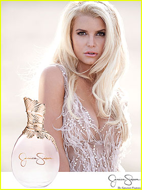Jessica Simpson Is Sensual & Revealing For New Fragrance Ad!