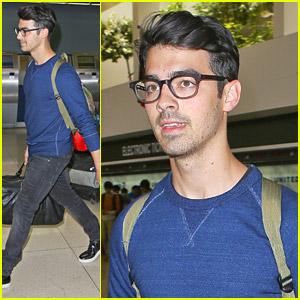 Joe Jonas Returns Home After 'Off The Record' Tour