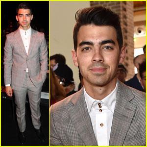 Joe Jonas Looks Like a Gentleman During Milan Fashion Week!