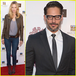 Joe Manganiello Gets Support from 'True Blood' Co-star Kristin Bauer at 'La Bare' Premeire!