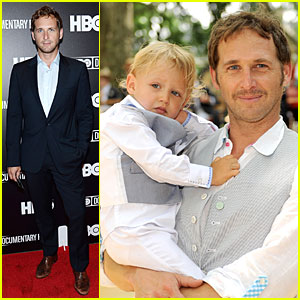 Josh Lucas' Cute Son Noah Has His Beautiful Blue Eyes!