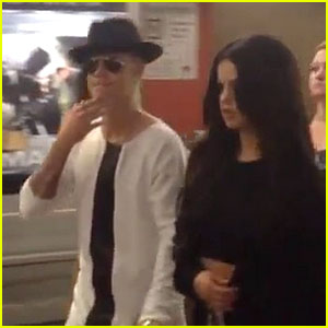 Justin Bieber & Selena Gomez Look Like a Couple on Movie Date in Century City!