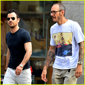 Justin Theroux Hangs Out with Photog Pal Terry Richardson