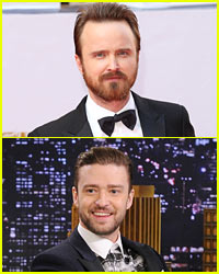 Bromance Alert! Justin Timberlake & Aaron Paul Plan Pizza Date