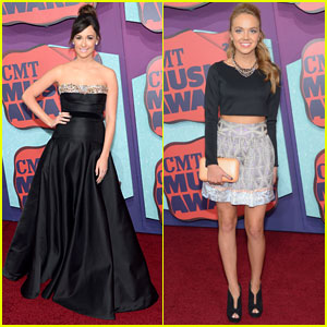Kacey Musgraves & Danielle Bradbery Get Dolled Up for CMT Awards 2014!