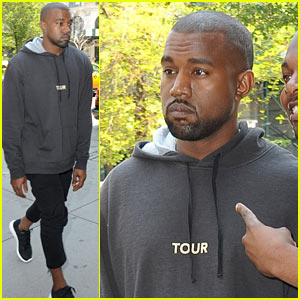 Kanye West Spotted in NYC After 'Relaxing Romantic Honeymoon'