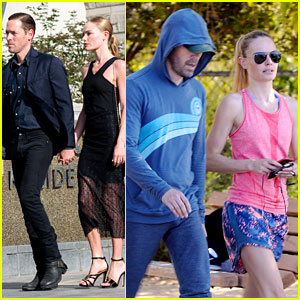 Kate Bosworth & Michael Polish Go Hiking After Trip to Dallas