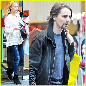 Kate Hudson & Matt Bellamy Shop 'Til They Drop in London!