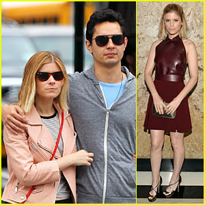 Kate Mara & Max Minghella Are Such a Cute Couple in NYC!