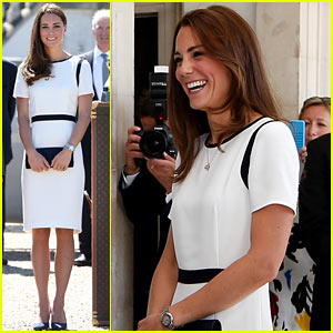 Kate Middleton Always Looks So Chic - Check Out Her Latest Outfit at the Maritime Museum!
