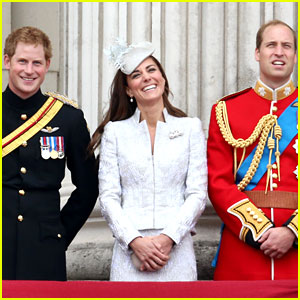 Kate Middleton, Prince William, & Prince Harry Make Our Favorite Royal Trio!