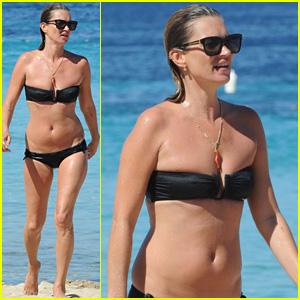 Kate Moss Flaunts Bikini Bod While Soaking Up Sun in Ibiza!