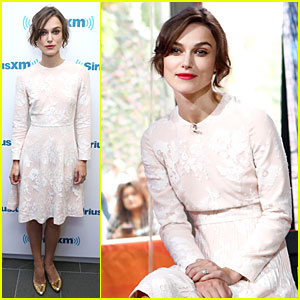 Keira Knightley Admits to Singing In the Shower on 'Today' - Watch Now!