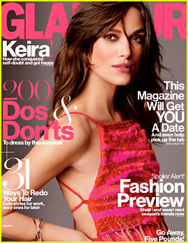 Keira Knightley to 'Glamour': 'Begin Again' Co-star Adam Levine Played a D-ckhead Very Well