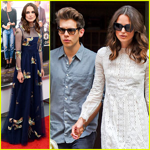 Keira Knightley & Husband James Righton Step Out Before 'Begin Again' NYC Premiere!