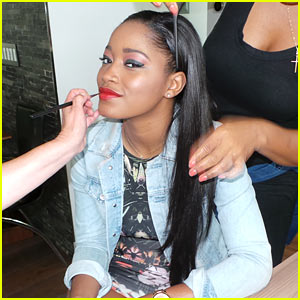 Keke Palmer Channels 'Animal' Instincts For JJ Spotlight Series (Behind the Scenes Photos)