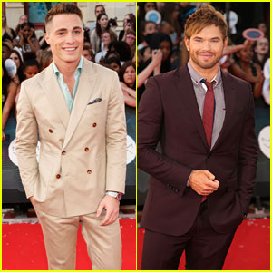 Colton Haynes & Kellan Lutz Make Us Swoon at the MuchMusic Video Awards 2014!
