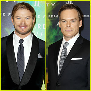 Kellan Lutz & Michael C. Hall Dress to the Nines at Fragrance Foundation Awards!