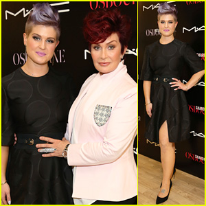Kelly Osbourne Launches Her MAC Collection with Mother Sharon!