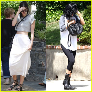 Kendall & Kylie Jenner Take Khloe Kardashian's Jeep for a Spin!