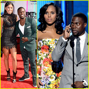 Kevin Hart Pretends He Is 'Oliver Pope' at BET Awards 2014