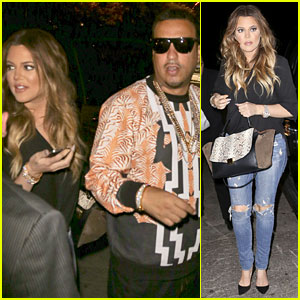 Khloe Kardashian & Boyfriend French Montana Host Nightclub Party in Toronto!